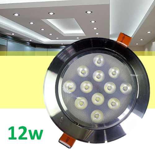 Spot Led 12w Foco Dirigible Plafon Luces Casa Tipo Panel