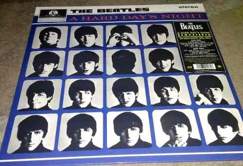 The Beatles - A Hard Day's Night (vinilo, Lp, Vinil, Vinyl)