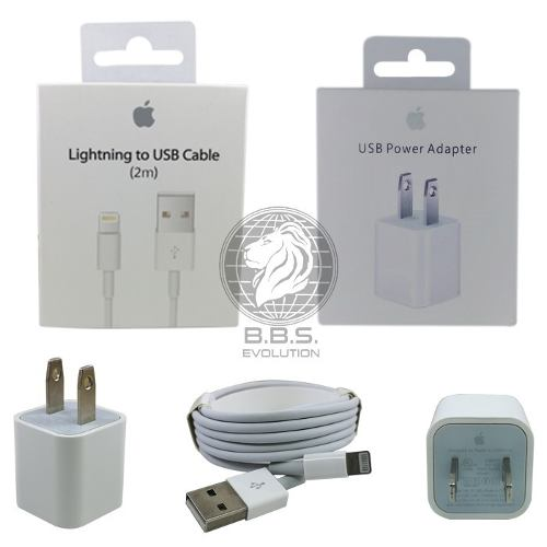 Cable Y Cargador Lightning Apple Iphone  X
