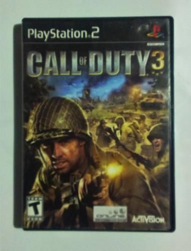 Call Of Duty 3 Ps2 Play Station 2 En Caja Retromex Tcvg