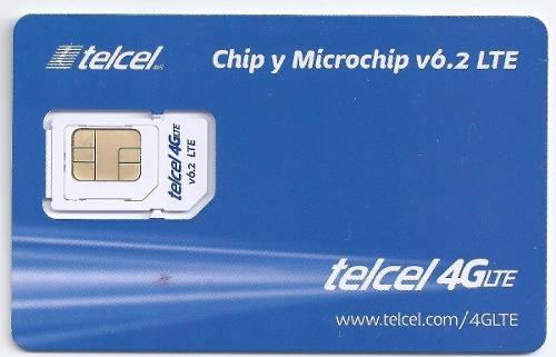 Chip Telcel 4g Lte Micro Y Nano Region 9 Costo De Mayoreo