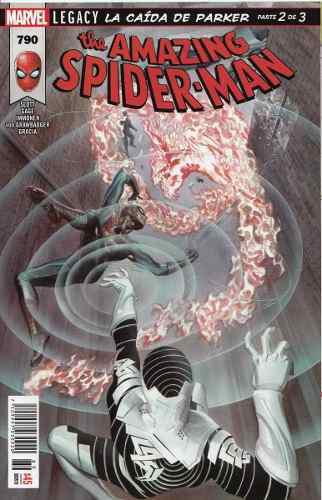 Comic The Amazing Spiderman # 790 Legacy Carton Y Bolsa