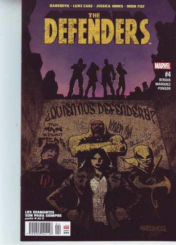 Comic The Defenders # 4 Nuevo Y Sellado