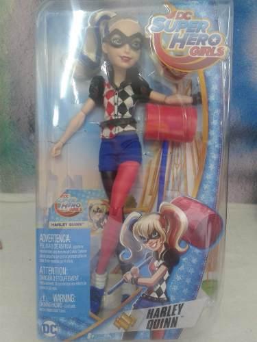 Harley Quinn Dc Super Hero Girls Mattel 30 Cm Envio Gratis!!