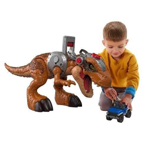 Jusassic World Rex Imaginext Dinosaurio 80 Cm