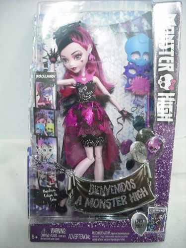 Monster High Dracolaura (bienvenidos A Monster High)