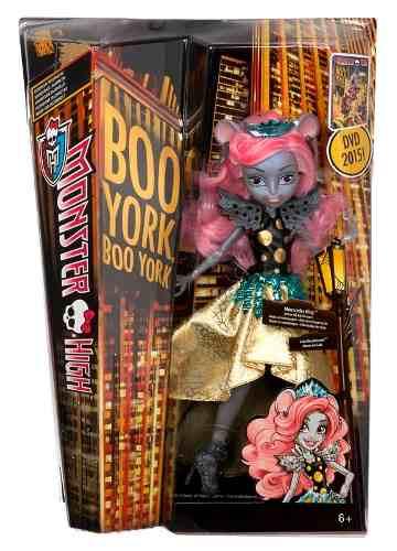 Muñeca Monster High Buu York Mouscedes King Colección