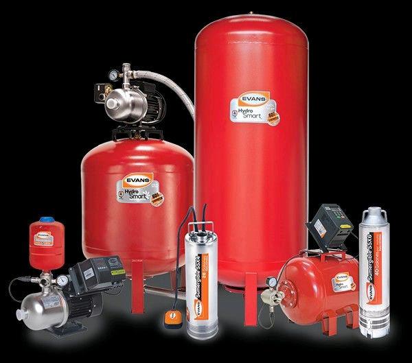 Reparación y instalación de bombas de agua y