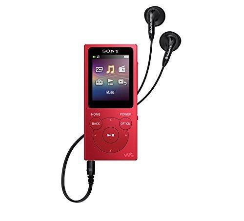 Reproductores De Mp3 Y Mp4,sony Nwe394 R 8 Gb Walkman R...