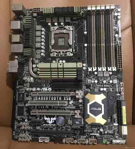 Tarjeta Madre Asus Sabertooth X58 Para Intel I7 Socket 1366