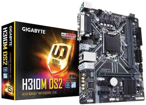 Tarjeta Madre Gigabyte H310m Ds2 Intel S-1151 8a Generacion
