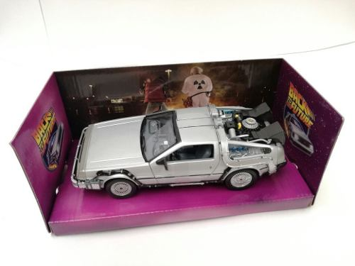 Time Machine De Lorean Volver Al Futuro I De Metal 1:24