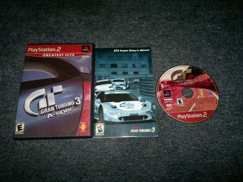 Gran Turismo 3 A-spec Completo Para Play Station 2,checalo
