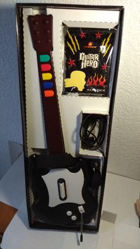Guitar Hero 1 Importado Con Guitar Controller. Ambis