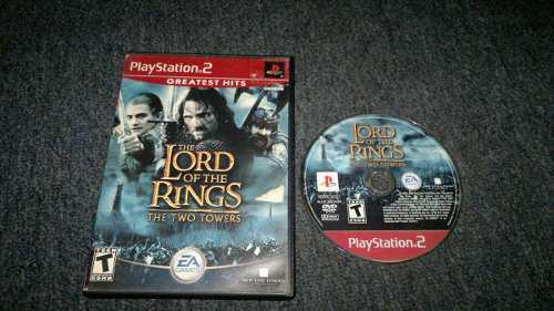 Lord Of The Ring The Two Towers Sin Ins Para Play Station 2