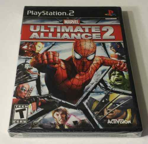 Marvel Ultimate Alliance 2 Para Sony Ps2