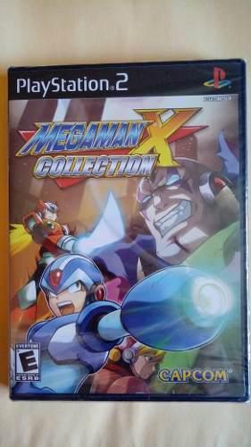 Megaman Mega Man X Collection Nuevo Ps2 $398