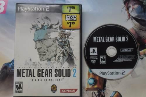 Metal Gear Solid 2 Tactical Espionage Action