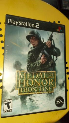 Playstation 2 Ps2 Medal Of Honor Frontline Completo Envío