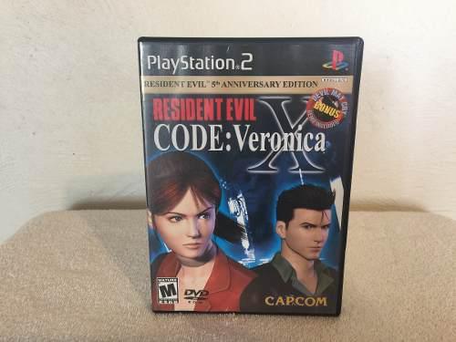 Resident Evil Code Veronica X Edicion 5 Aniversario Completo