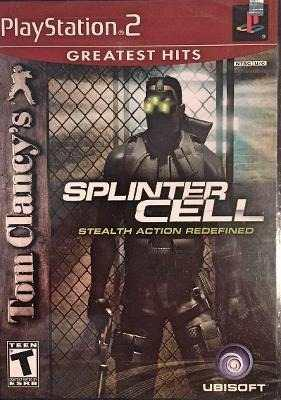 Splinter Cell - Tom Clancy´s Para Play Station 2 Nuevo