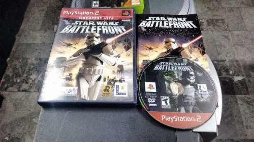 Star Wars Battlefront Completo Para Play Station 2