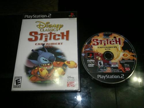 Stitch Experiment 626 Sin Instructivo Para Play Station 2