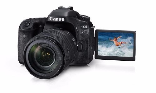 Camara Digital Canon Eos 80d Lente mm 24 Mp Wifi