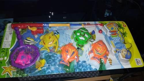 Juego De Pesca De Agua Iman Nuevos Mod #5 Kit Jumbo