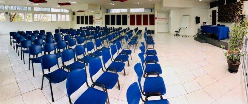 Renta de espacios para eventos académicos
