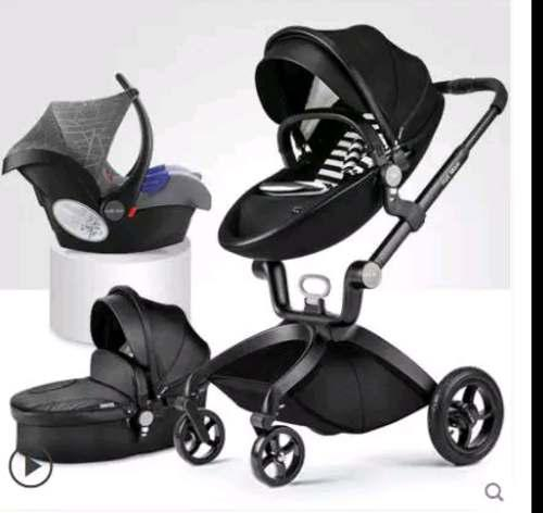 Carreola Bebe Europea Multifuncional Hot Mom 3 En 1 Bambinet