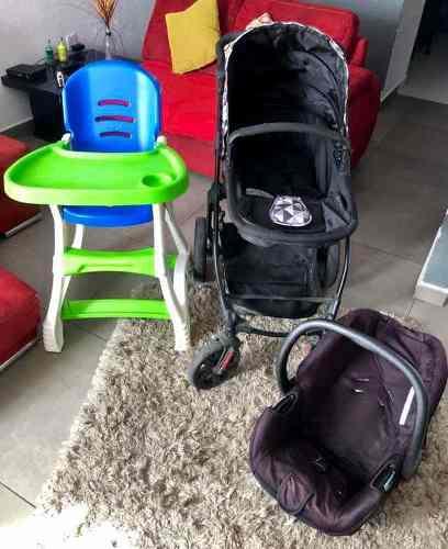 Carreola Con Asiento Para Bebé Marca Prinsel Y Periquera
