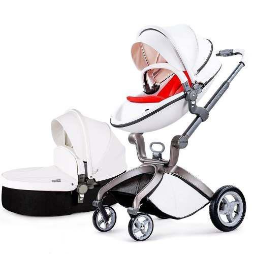 Carreola De Lujo Europea Con Bambineto Envío Gratis+regalos