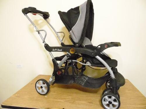 Carreola Doble Baby Trend Niño 0-25kg Paseo Grande I889
