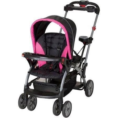 Carreola Doble Bebe Y Niña Baby Trend Arnes Enfrente Rosa