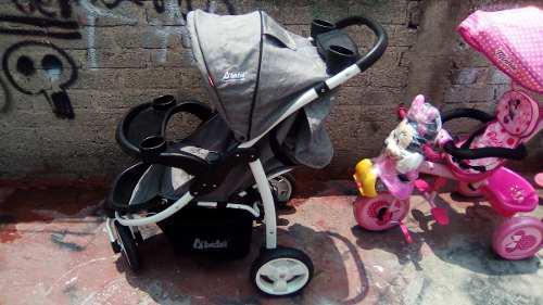 Carreola Nueva Marca D Bebe Y Triciclo Para Niña