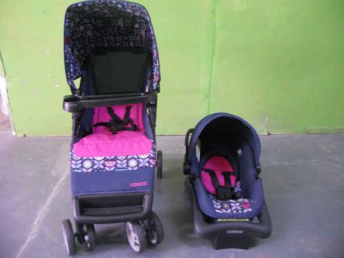 Carreola Y Portabebe Marca Cosco Paseo Bebe #c165