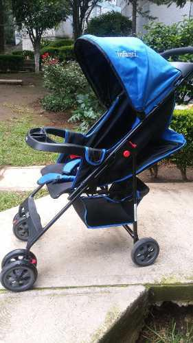 Carreola/carriola Para Niño Negro-azul Infanti