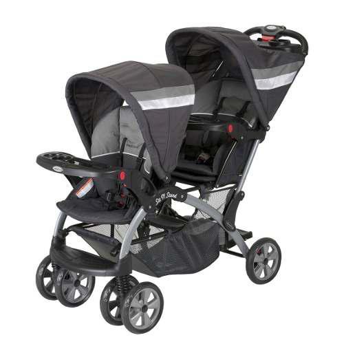 Carriola Baby Trend Gemela Sit N Stand Doble