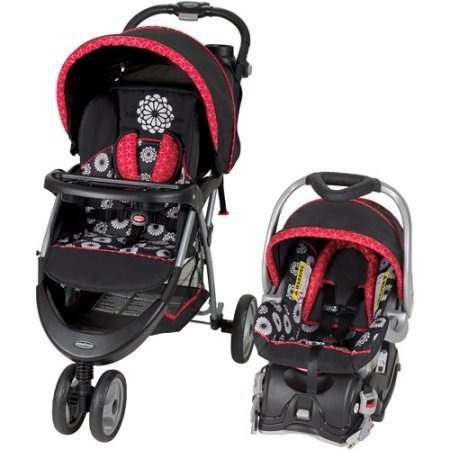 Carriola Con Portabebe Y Base Auto Baby Trend