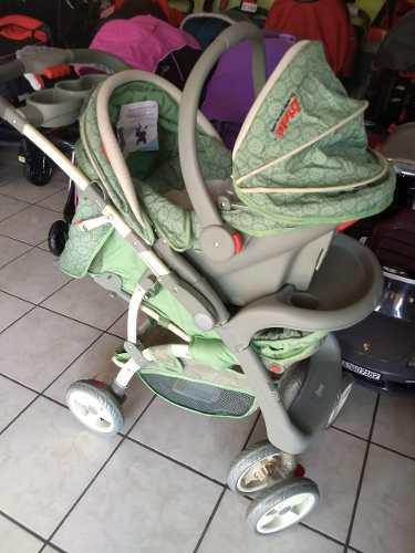 Carriola D Bebe Travel Aventura Verde