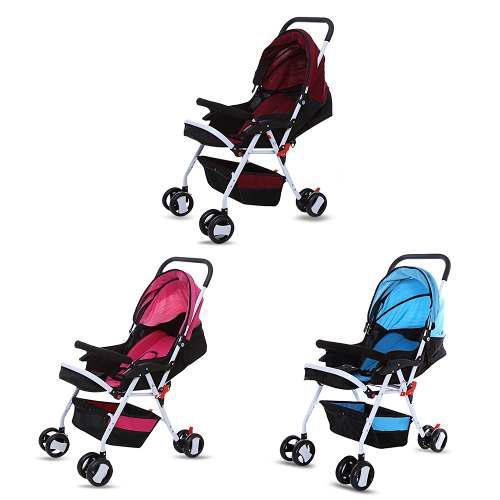 Carriola D/bebé Moonsater 1602 Plegable C/ruedas