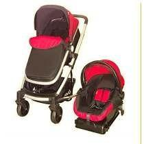 Carriola D'bebé Travel System Crown Roja