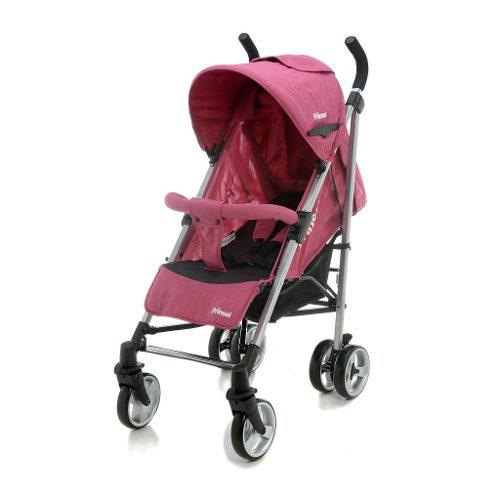 Carriola De Baston Prinsel Pulsar Reclinable Plegable Rosa
