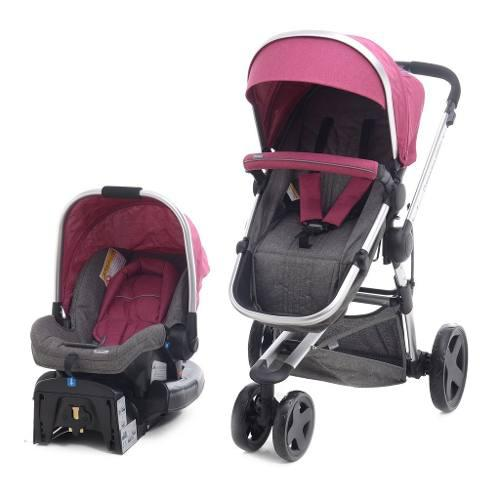 Carriola De Bebe Prinsel Compass Elite Lx Portabebe Base
