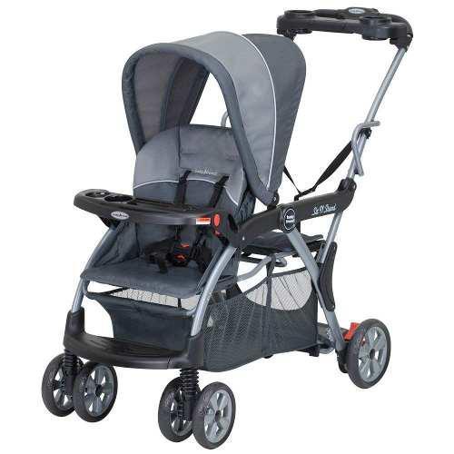 Carriola Doble Baby Trend Sentado Y Parado Rockridge