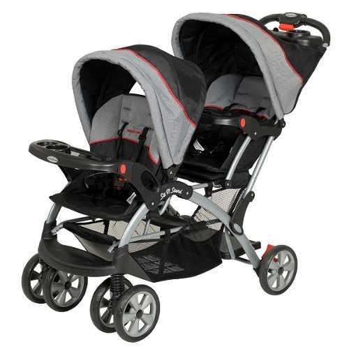 Carriola Doble Baby Trend Sit N Stand Desmontable -millenium
