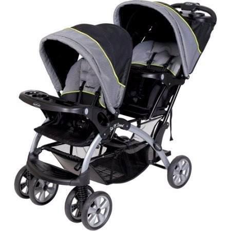 Carriola Doble Baby Trend Sit 'n Stand Plegable Envio Gratis