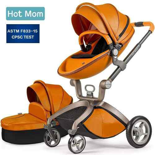 Carriola Hot Mom 3en1 Carriola 3 En 1 Canasta Bassinet Combo