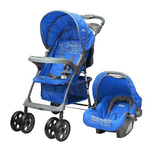 Carriola Infanti Kei Con Portabebe 3 En 1 Mod. E16 - Azul